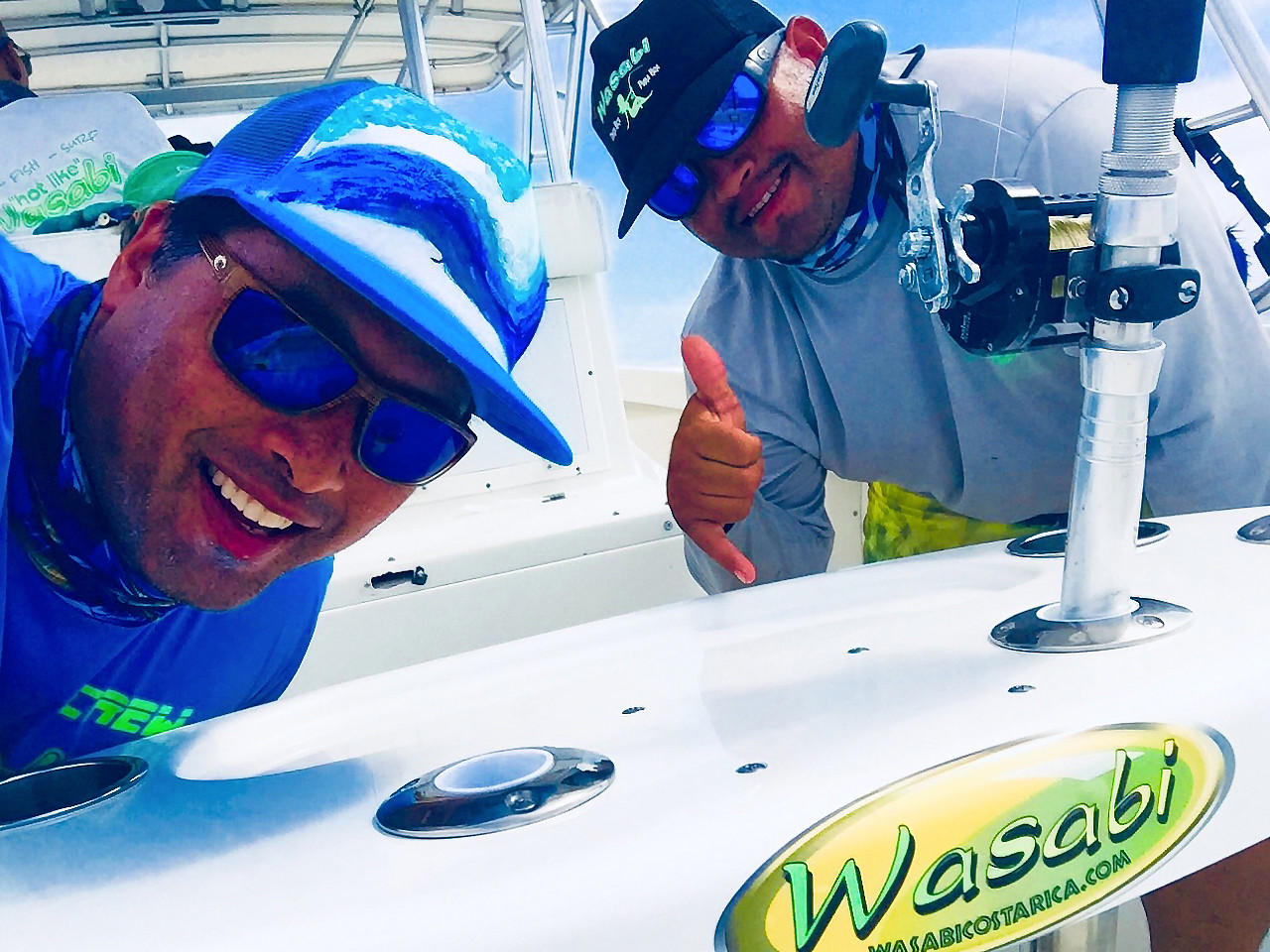 Wasabi Fishing - The Team